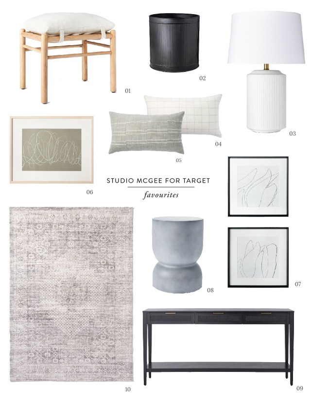 House of Hawkes Target and Studio McGee collection favorites
