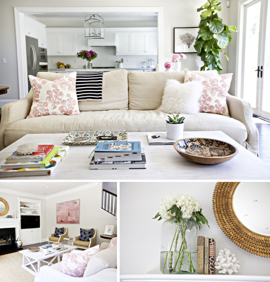 At home with Shea McGee Living room