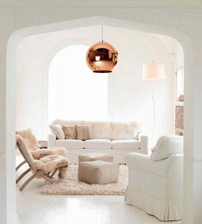 Colour crush: Copper & Blush