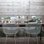 Outdoor furniture styling