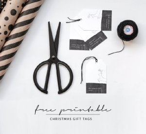 Printable Christmas Gift Tags 2015