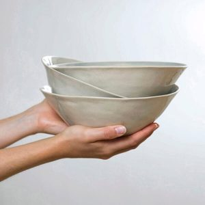 Organic shaped tableware