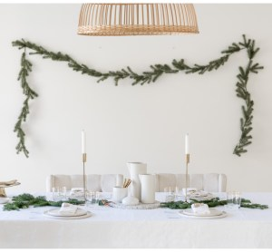Christmas table styling | shop the look