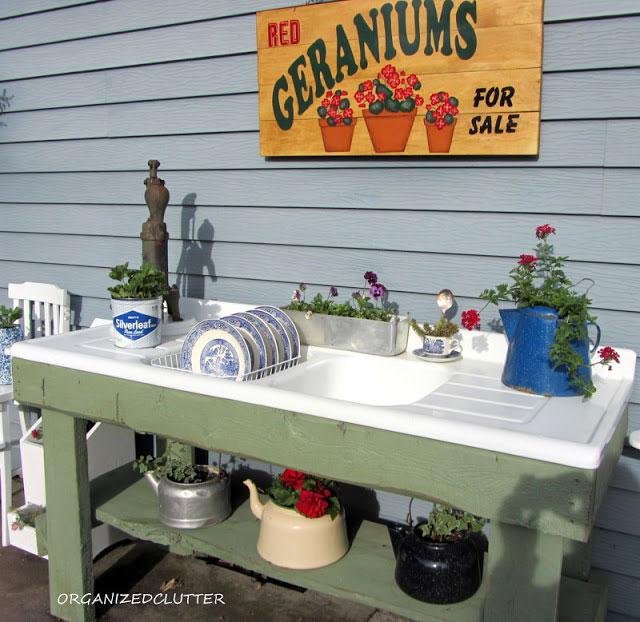 diy potting bench ideas house of