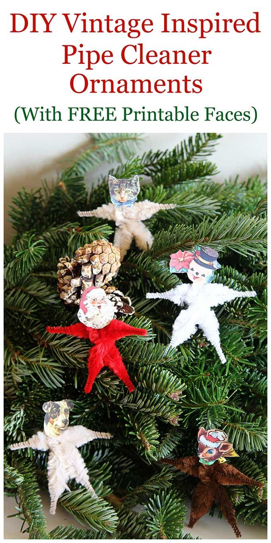 Make Vintage Christmas Ornaments