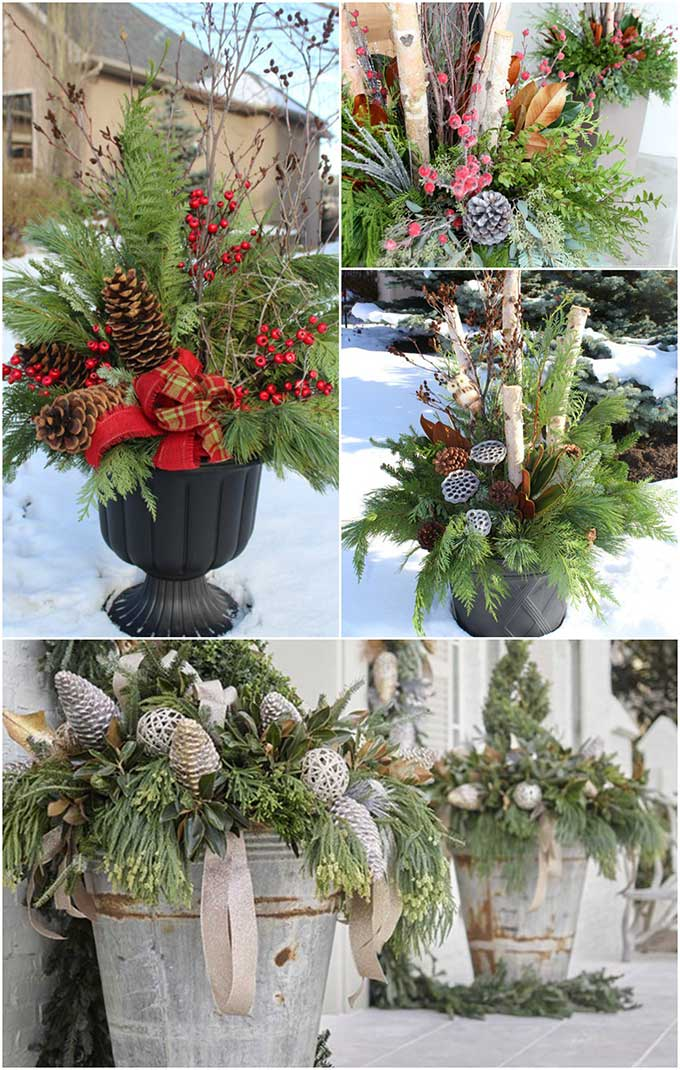Winter Themed Christmas Decorations