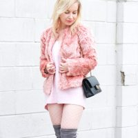 Why You Need a Pink Sweater Dress