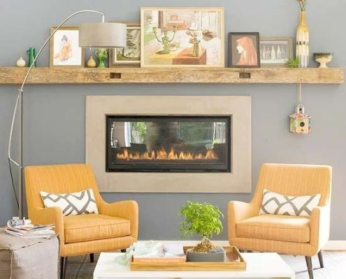 yellow-grey-living-room-fireplace-vignette