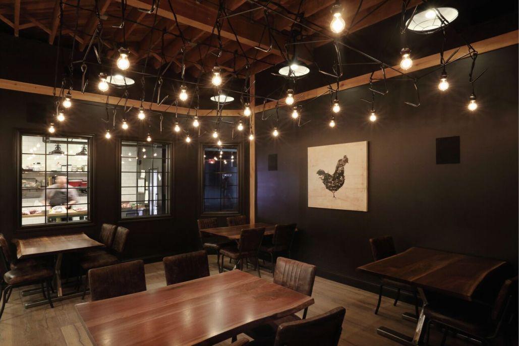 Rge rd butchery edmonton restaurant interior design project