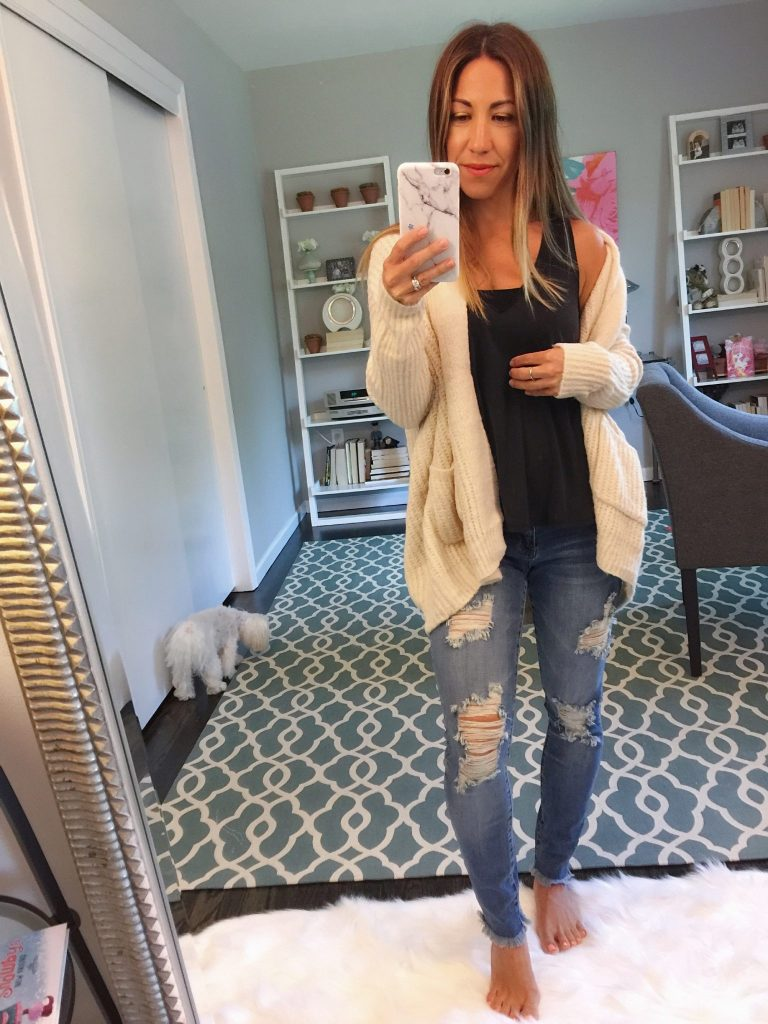 Top basics from the Nordstrom Anniversary Sale featured by top US fashion blog, House of Leo: ripped skinny jeans