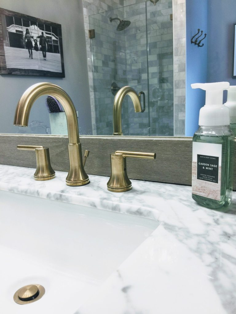 MASTER BATHROOM RENOVATION IDEAS featured by top Chicago lifestyle blog, House of Leo