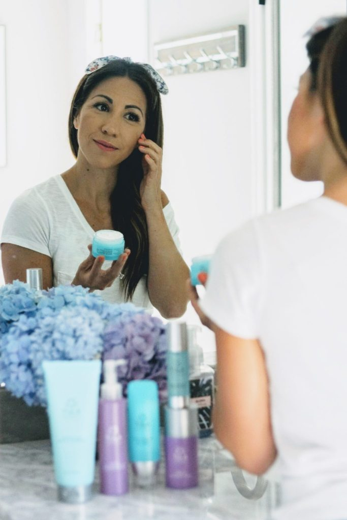 my skincare routine with tula