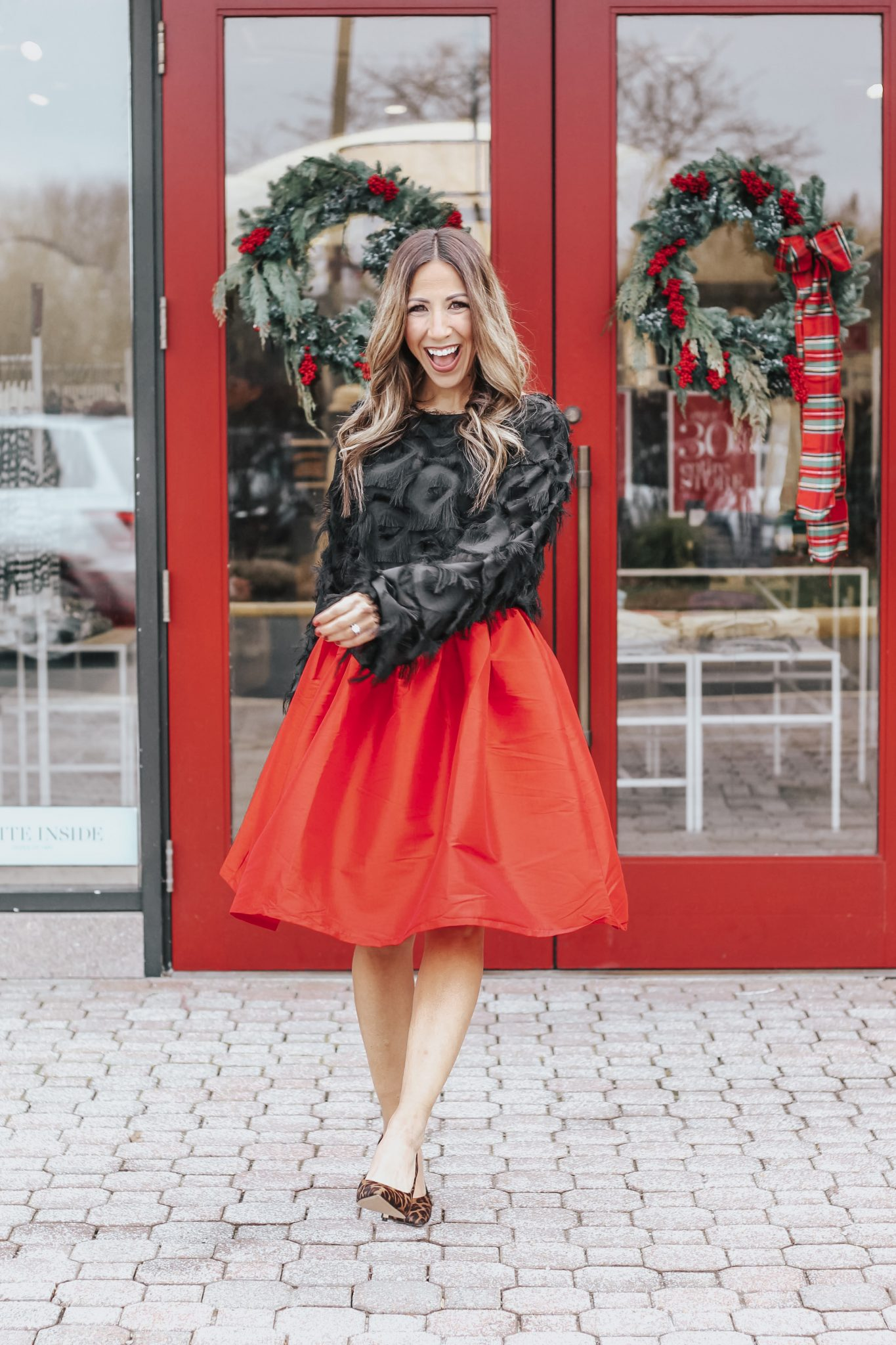 Tammy, the woman behind top New Jersey Fashion Blog, House of Leo