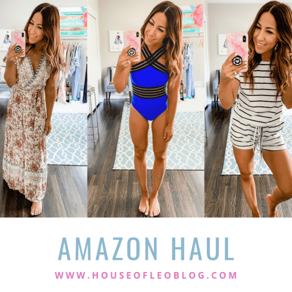 Amazon Haul by top US fashion blog, House of Leo Blog