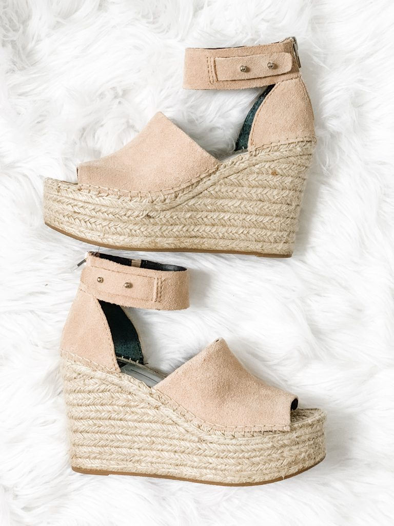 Spring Shoe Review by top US fashion blog, House of Leo Blog: image of Dolce Vita Straw Espadrille
