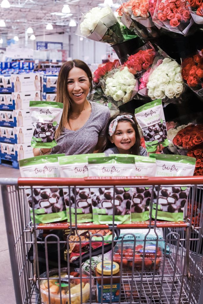 Healthy On The Go Snack at Costco: Tru Fru by top US lifestyle blog, House of Leo Blog: image of Tru Fru Coconuts Melts
