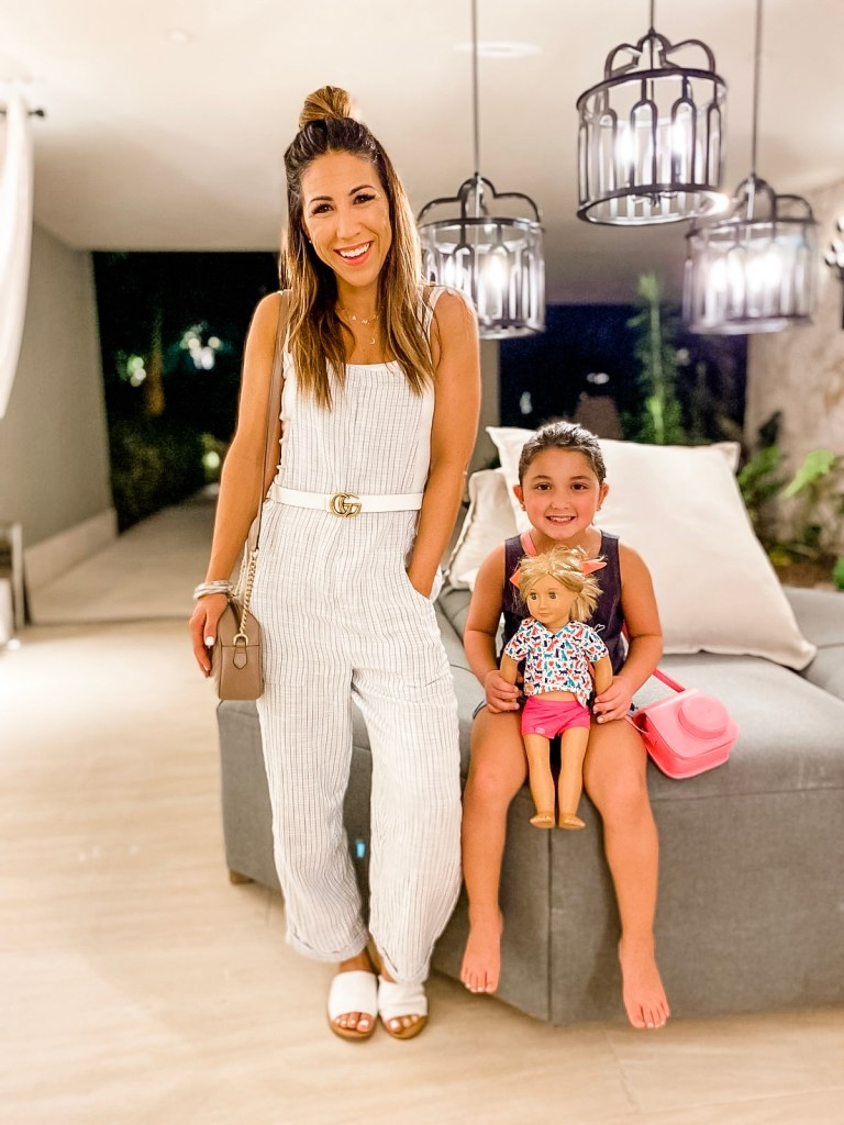 Kimpton Seafire Resort Grand Cayman Review by top lifestyle blog, House of Leo Blog: image of woman in white overalls