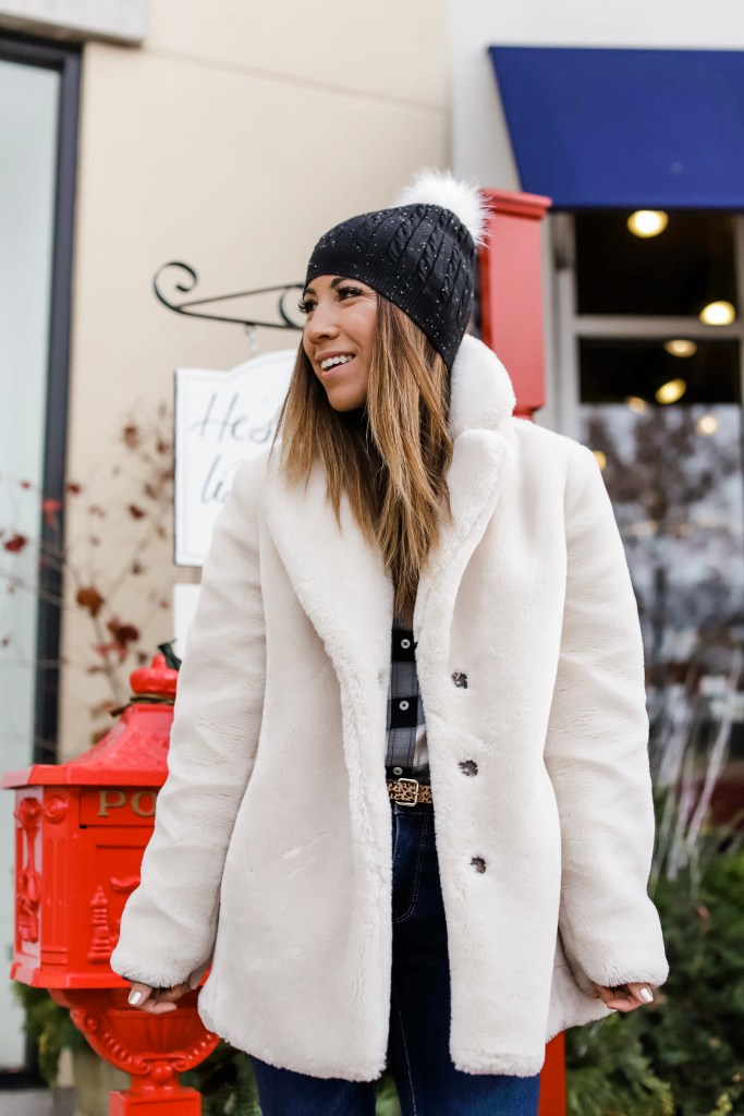 Winter Must Haves From Talbots by top US fashion blog, House of Leo Blog: image of woman wearing must have winter must haves from Talbots