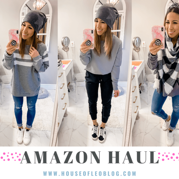 January Amazon Haul by top US fashion blog, House of Leo Blog: image of January Amazon haul