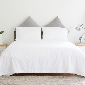 photo of house of march percale duvet cover