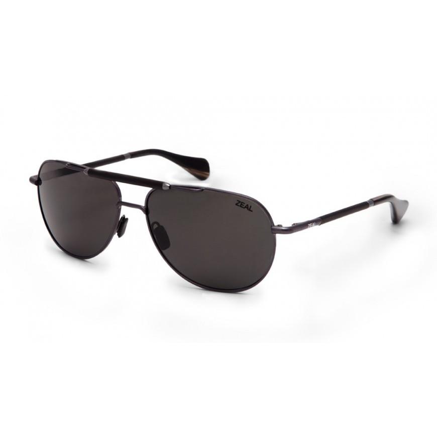 5e2f84a594 Zeal Optics Barstow - Polished Steel Dark Grey - House of Motorrad