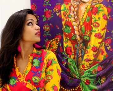 Summaiya Jillani: An Overnight Star from Pakistani World of Art2