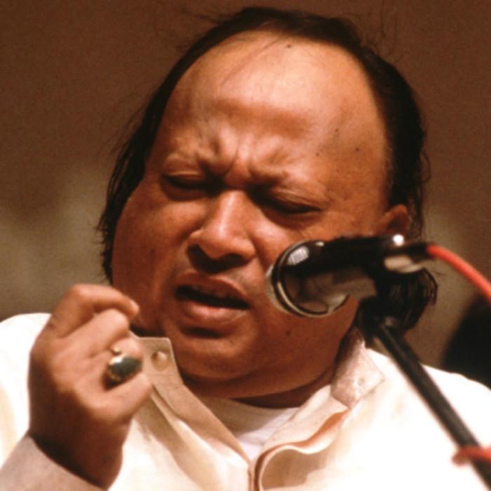 nusrat fateh ali khan, asian artist, qawwal, pakistani music, sufi music