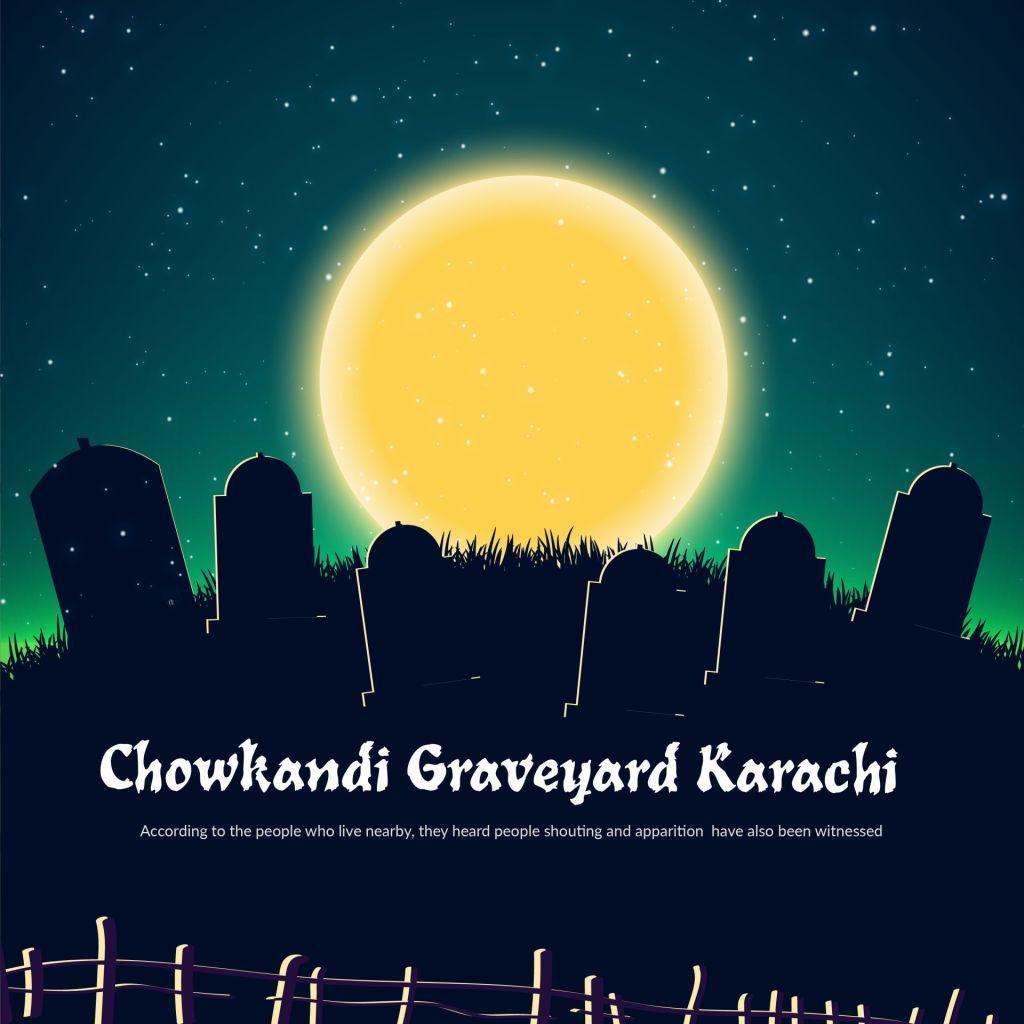 chowkandi graveyard, qabristan