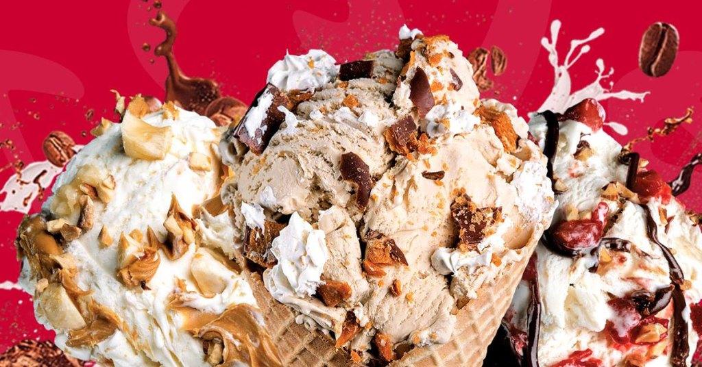 dessert places, BunBurry Club, smoke ice cream