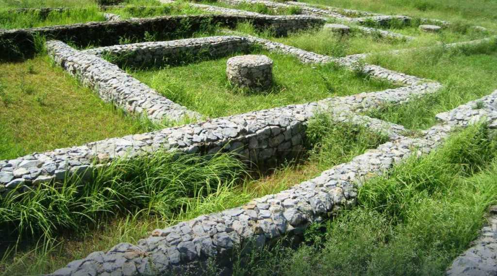 Khanpur Cave, Buddhist Sites, Bhir Mound