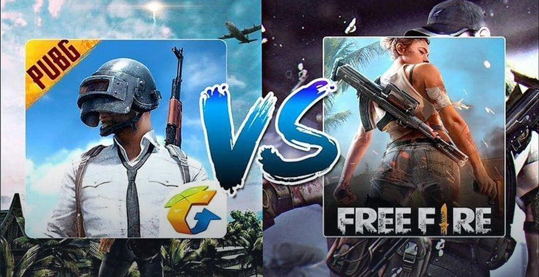 PUBG, Character Customization, PUBG vs free fire