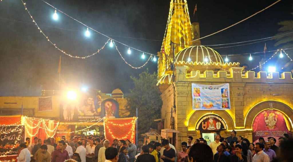 mandir by Hindus, Karachi, Sindh