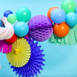 How To Create Your Own Diy Balloon Garland House Of Party