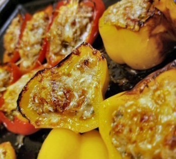 RV and Camping Recipes Stuffed Peppers