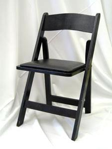 folding chair rental chicago baby swing bouncer resin black rentals il where to rent find in