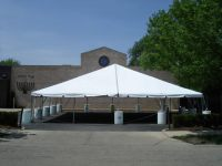 40x40-WHITE-NAVI-TRACK-FRAME-TENT Rentals in Chicago