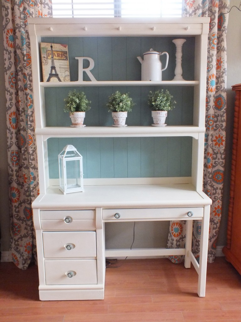 Cottage Shabby Chic Desk  Hutch  House of Rumours