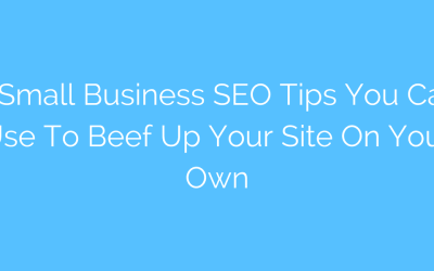 5 Small Business SEO Tips You Can Use to Beef Up Your Site On Your Own