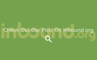 Check Out Our Post on Inbound.org