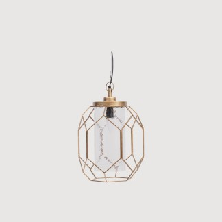 Gold Pendant Light