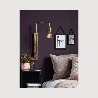 Brass Wall Lamp Nordal