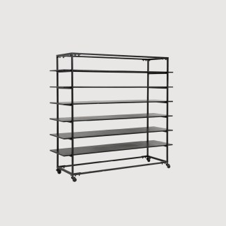 Black Shelving Iron Nordal