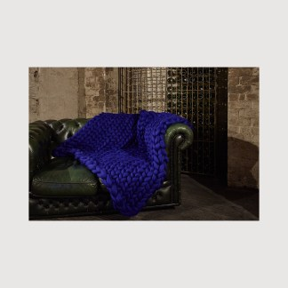 chunky knit throw, knitted blanket, chunky blanket