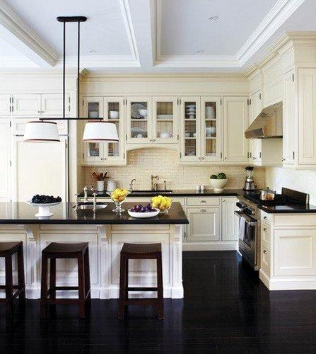 tile floors in kitchen pulls dark or light black kitchen3