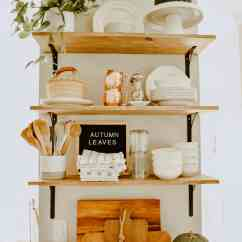 Fall Kitchen Decor Tall Bags Minimalist House On Longwood Lane