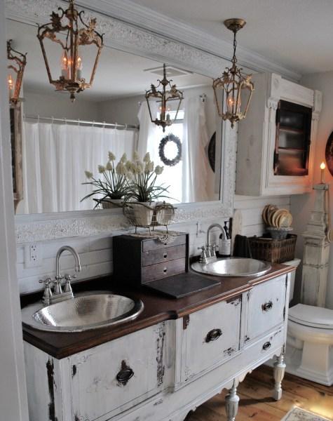 Bathroom Reveal lighting