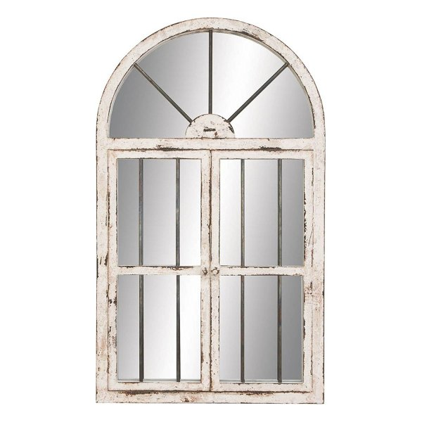 White distressed mirror direct Amazon link - House on Winchester