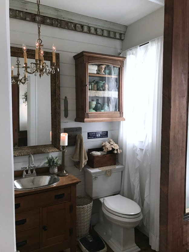 Half Bathroom Reveal - The House on Winchester