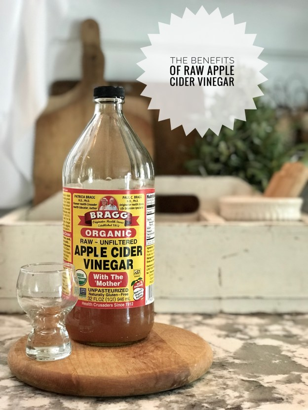 The Benefits of Drinking Raw Apple Cider Vinegar - House on Winchester