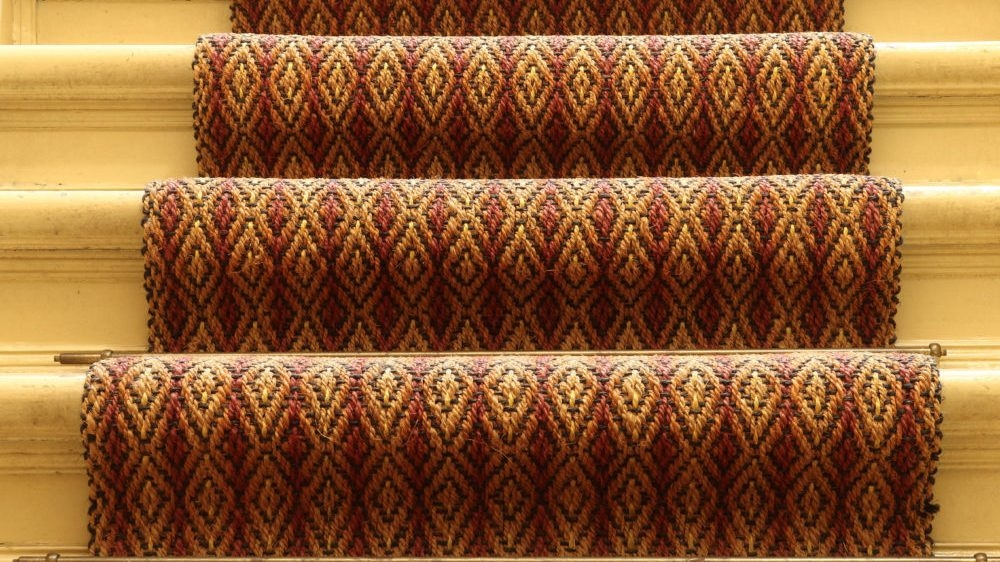 Carpet Runners For Halls And Stairs Houseopedia | Carpet And Hardwood Stairs | Wooden | Before And After | Wall To Wall Carpet | Grey | Design